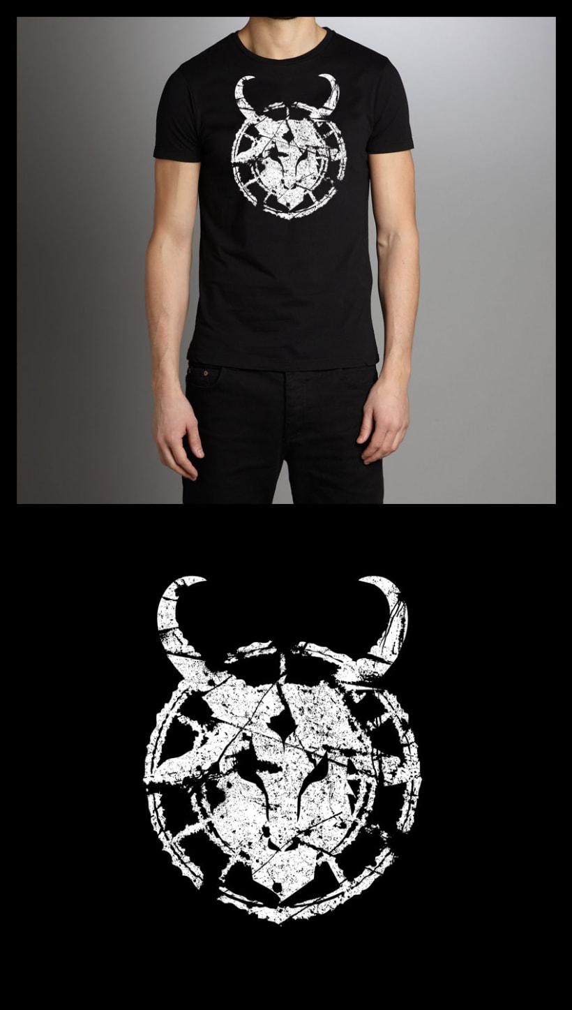 Camisetas Horn of the Rhino 3