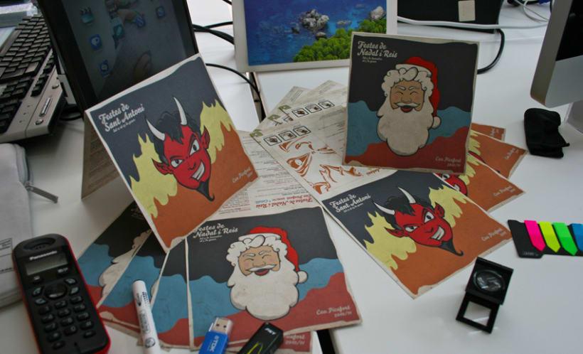 Postales Navidad y Sant Antoni 6