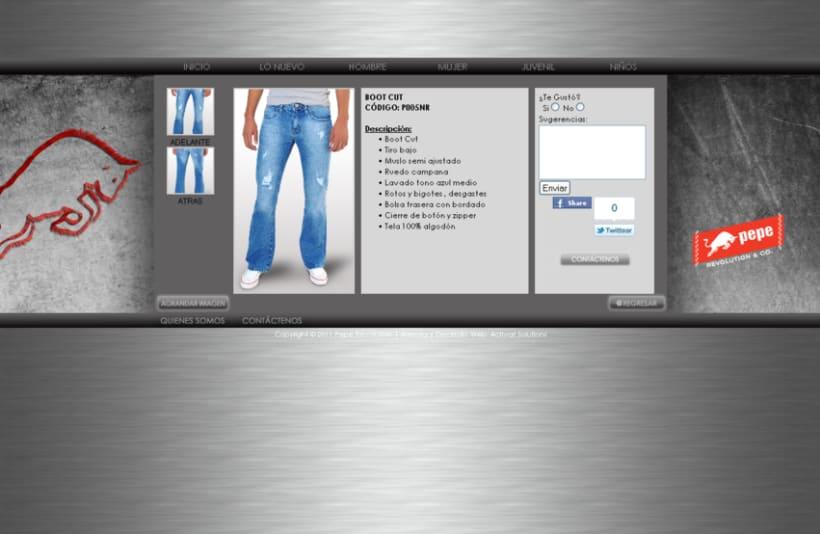 Pepe Revolution Jeans 5