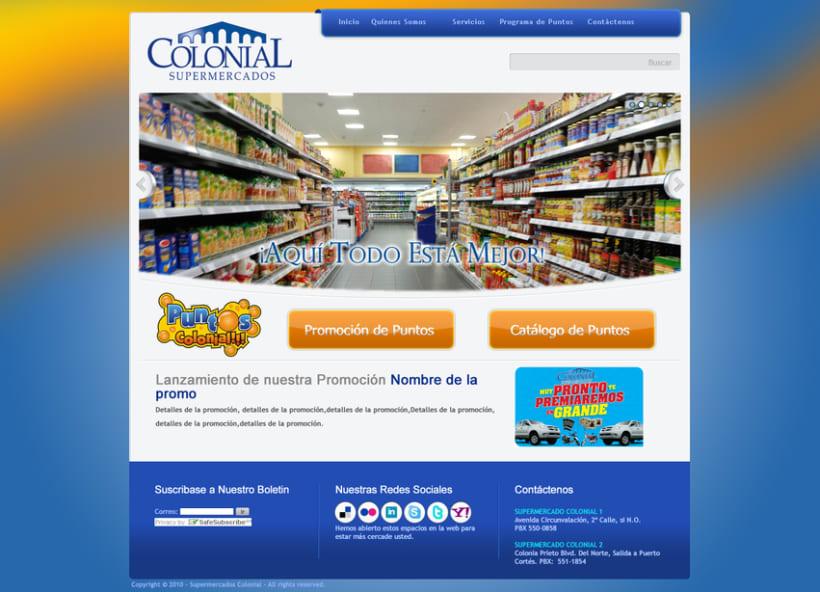 Supermercados Colonial 2