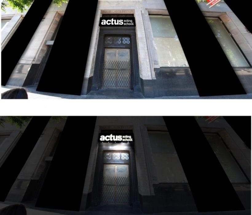 Imagen Gráfica Identificativa de la Escuela Actus  6