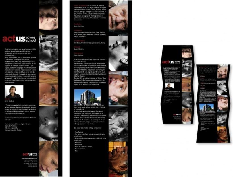 Imagen Gráfica Identificativa de la Escuela Actus  10