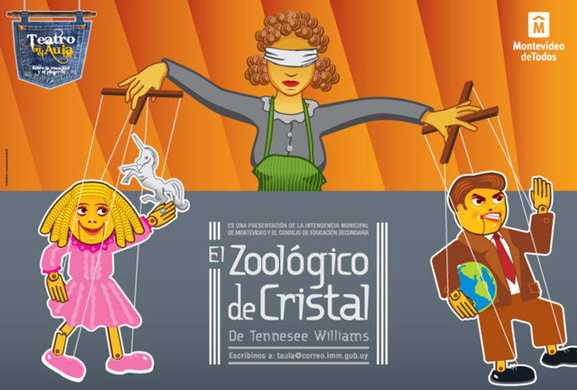 El Zoológico de Cristal. Tennesee Williams 1