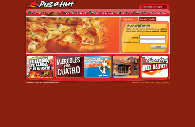 PizzaHut Honduras 1