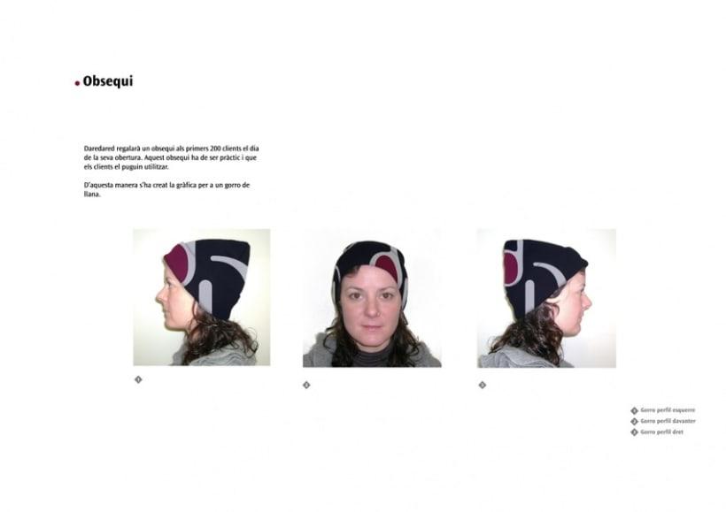 Manual de Identidad Visual y aplicaciones de la empresa Daredared 11