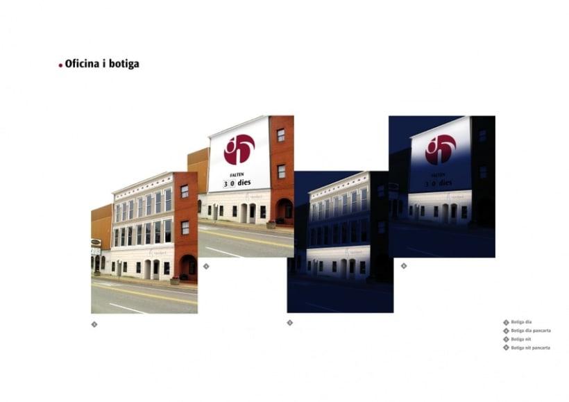 Manual de Identidad Visual y aplicaciones de la empresa Daredared 9