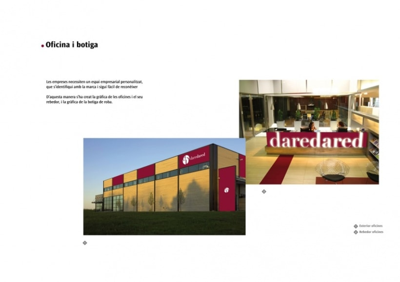 Manual de Identidad Visual y aplicaciones de la empresa Daredared 8
