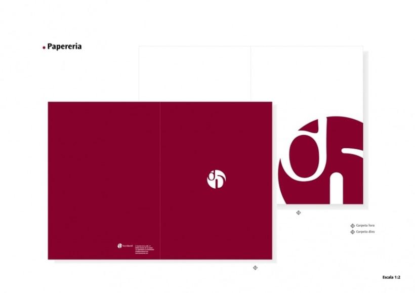 Manual de Identidad Visual y aplicaciones de la empresa Daredared 5