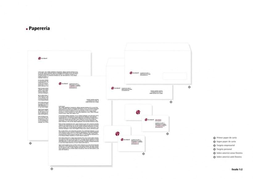 Manual de Identidad Visual y aplicaciones de la empresa Daredared 3