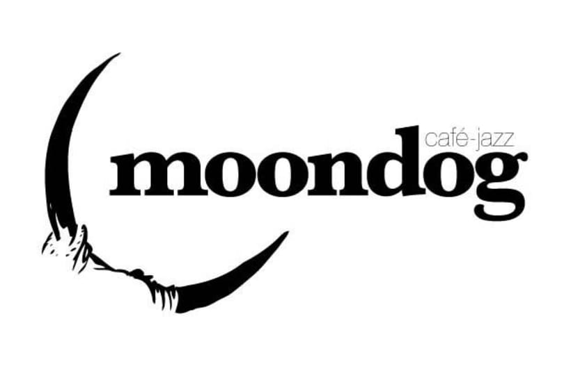 Logotipo Cafe-Jazz Moondog 1