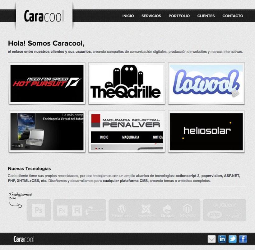 Nuevo Caracool.net 1