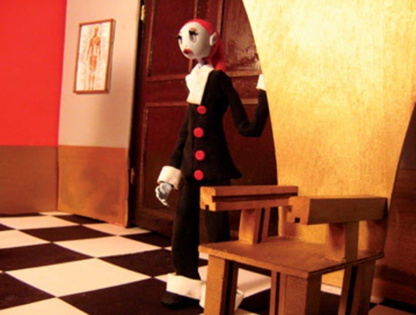 """Video - Corto animación stop-motion """"Doctor Kyle"""" 2"""