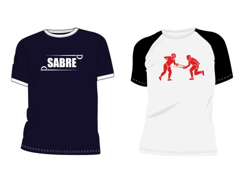 Estampacion Camisetas - Esgrima 2
