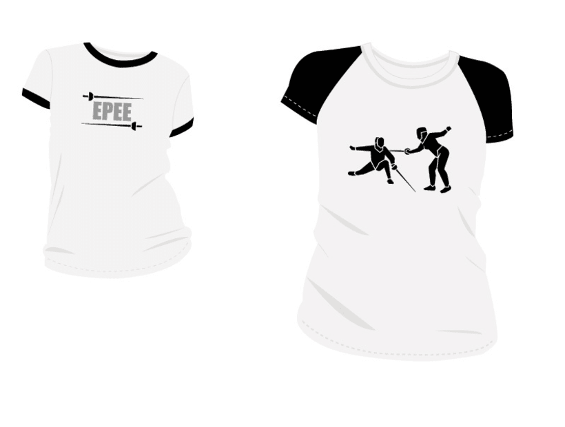 Estampacion Camisetas - Esgrima 3