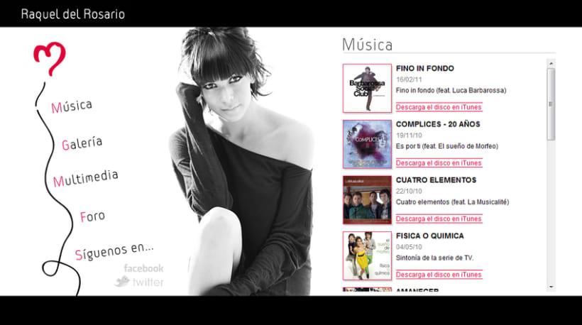 Raquel del Rosario - Web 2