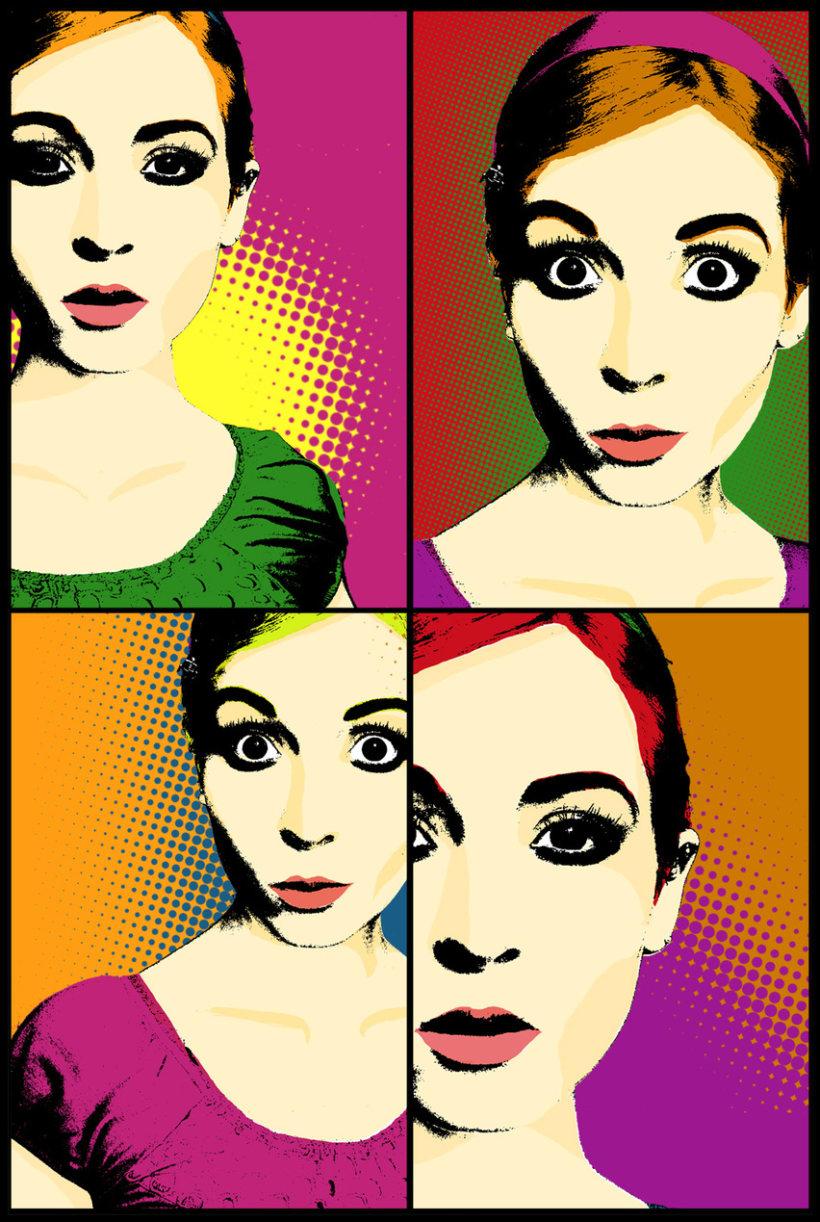 Pop Art y Retro 7
