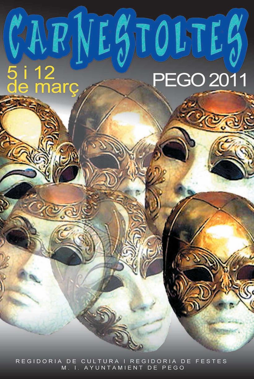 Cartel Carnaval Pego 2
