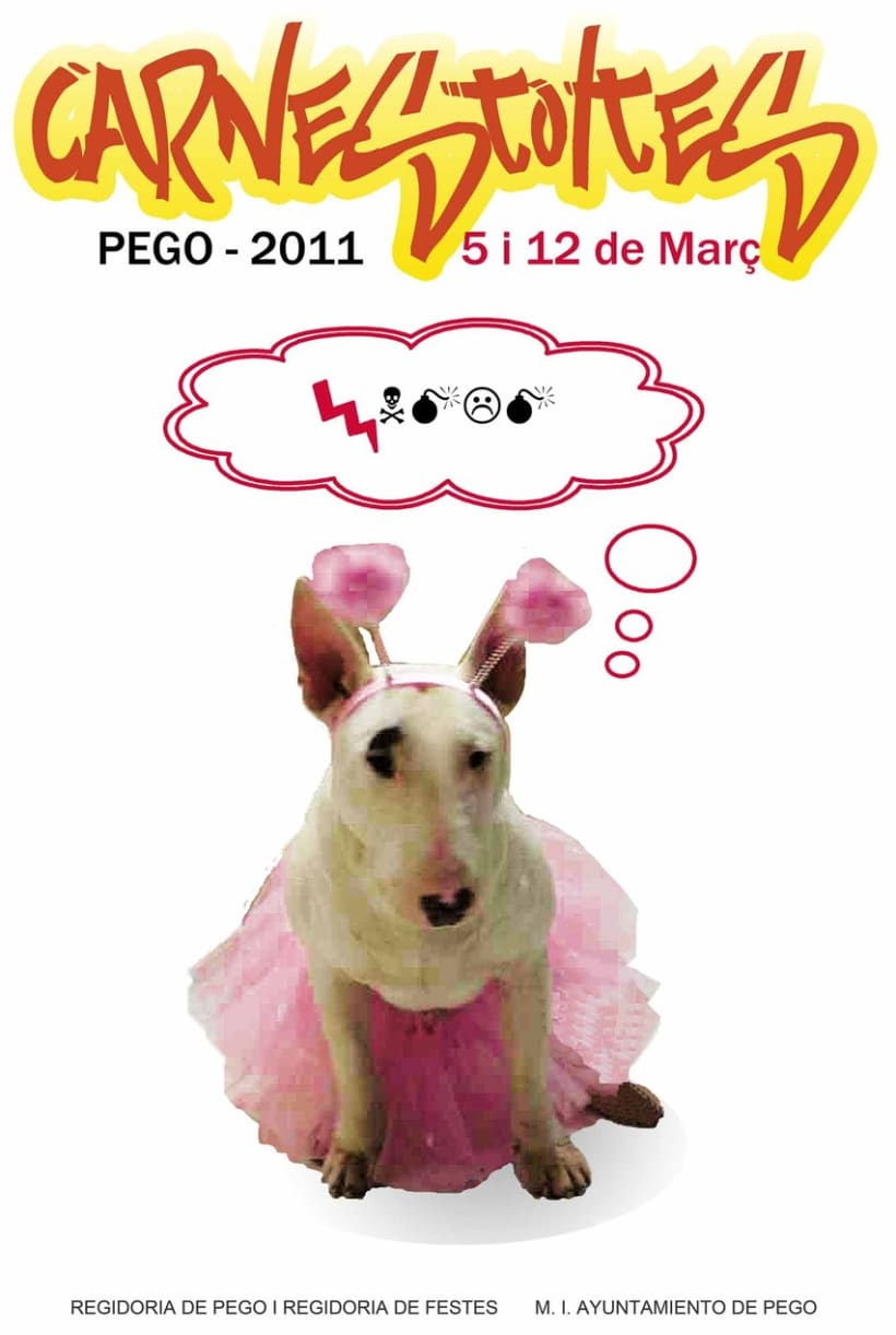 Cartel Carnaval Pego 1