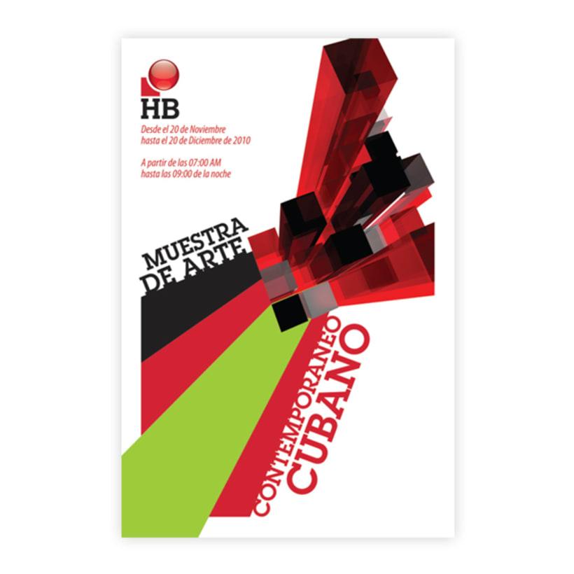 Sistema de Identidad Visual, HB Evento de arte contemporáneo cubano 2