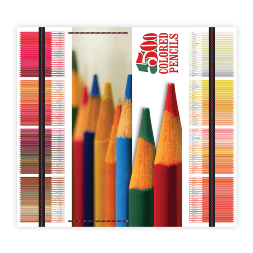 Campaña, 500 Colored Pencils 4