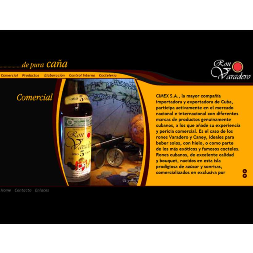 Sitio web, Ron Varadero 1