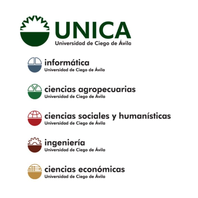 Sistema de Identidad Visual, UNICA 1