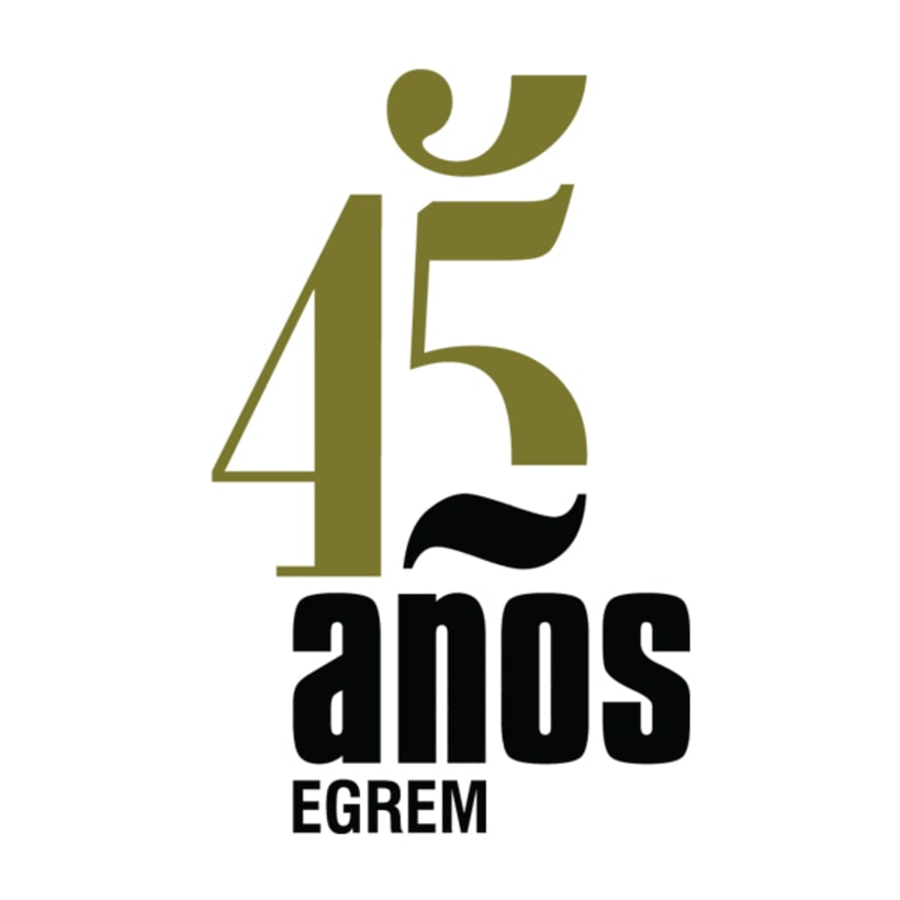 Identidad visual, Campaña 45 años EGREM 1