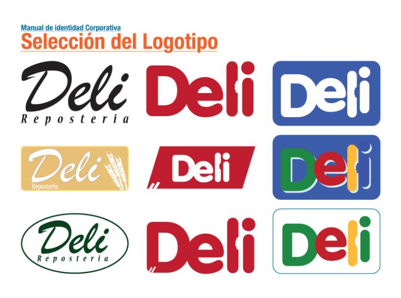 Identidad Corporativa Deli 2