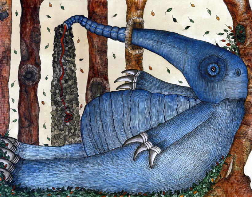 Blue anteater 1