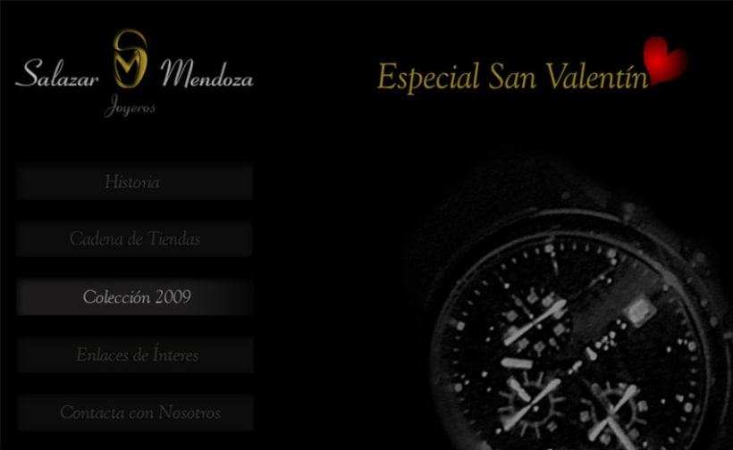 Diseño para web SALAZAR MENDOZA Joyeros 1