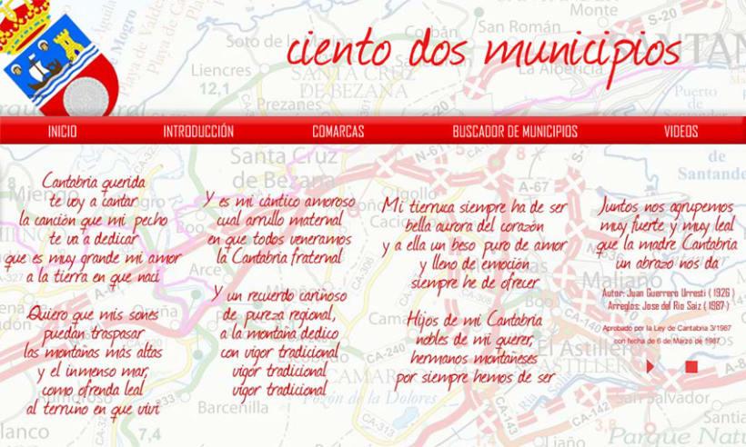 Diseño para web 102 Municipios cántabros 2
