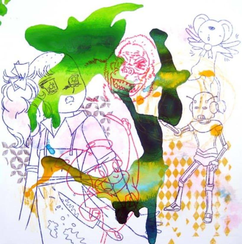 Ilustración. HOBO JUNGLE 15
