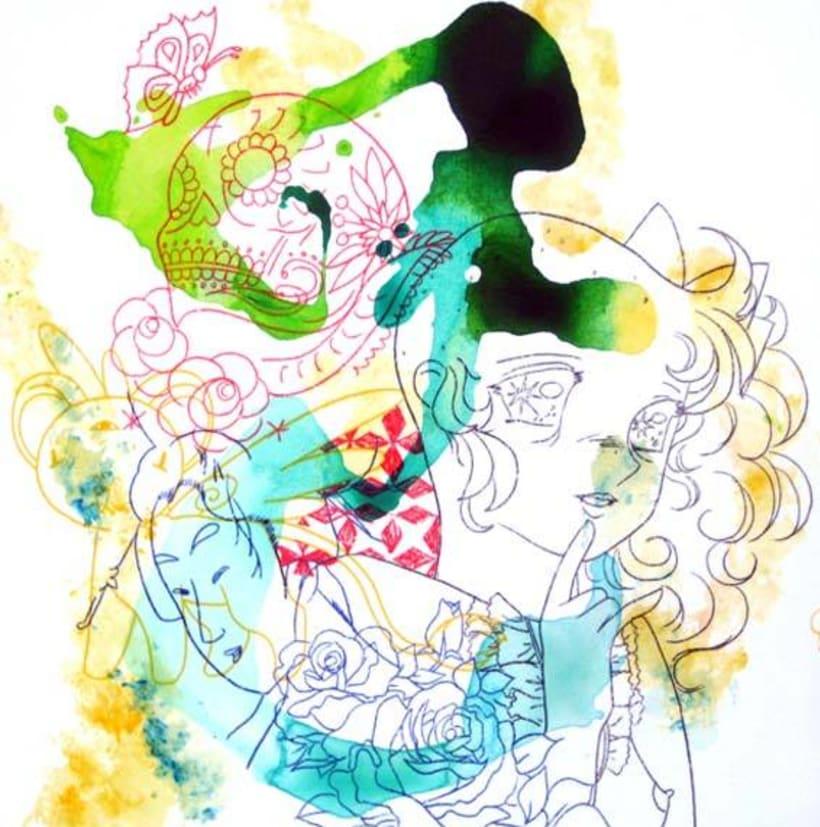 Ilustración. HOBO JUNGLE 8