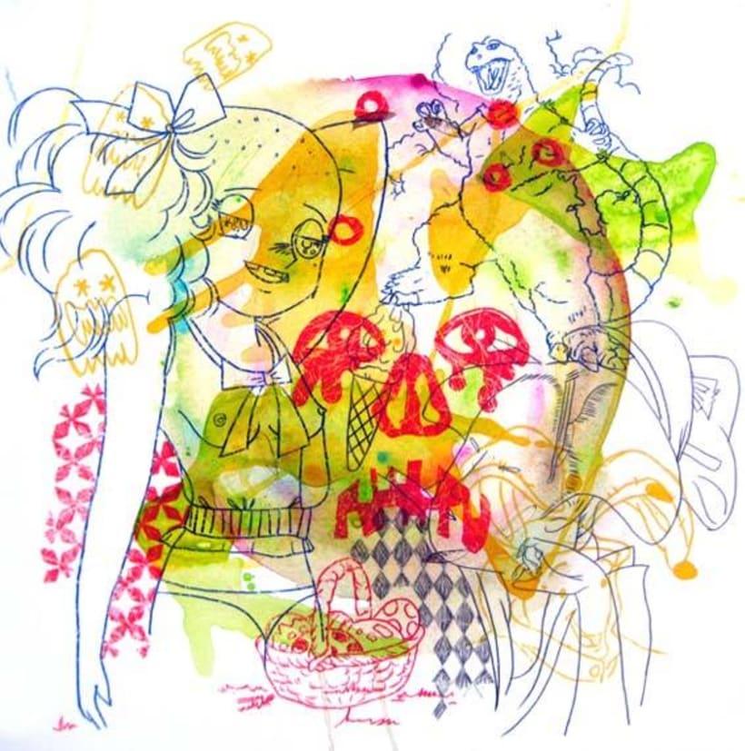 Ilustración. HOBO JUNGLE 7
