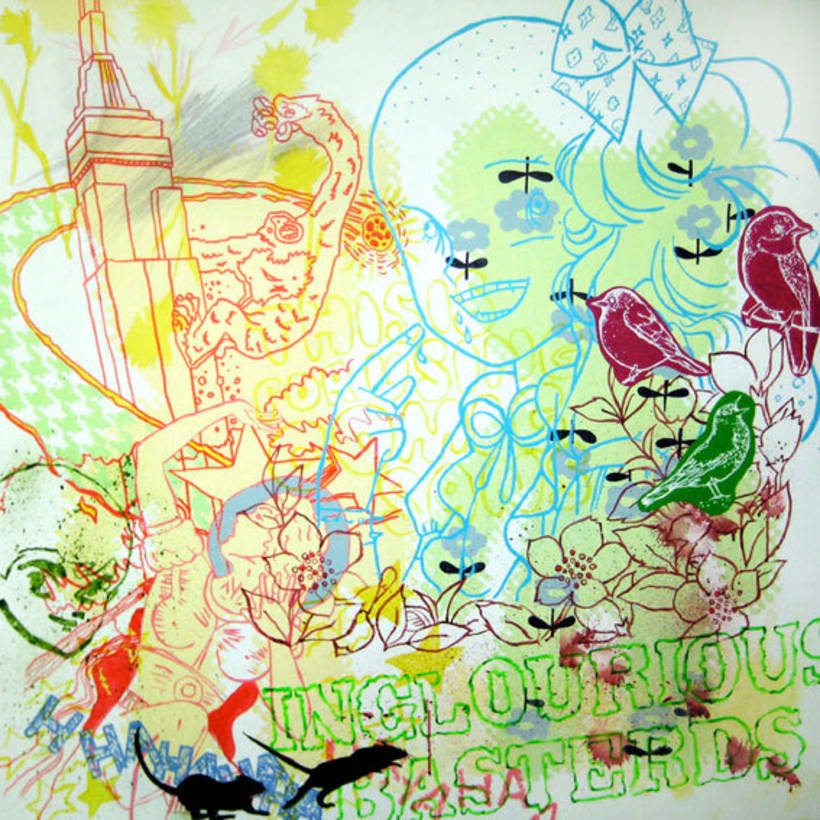 Pintura. Mediodía en el jardín del Bien y del Mal 4