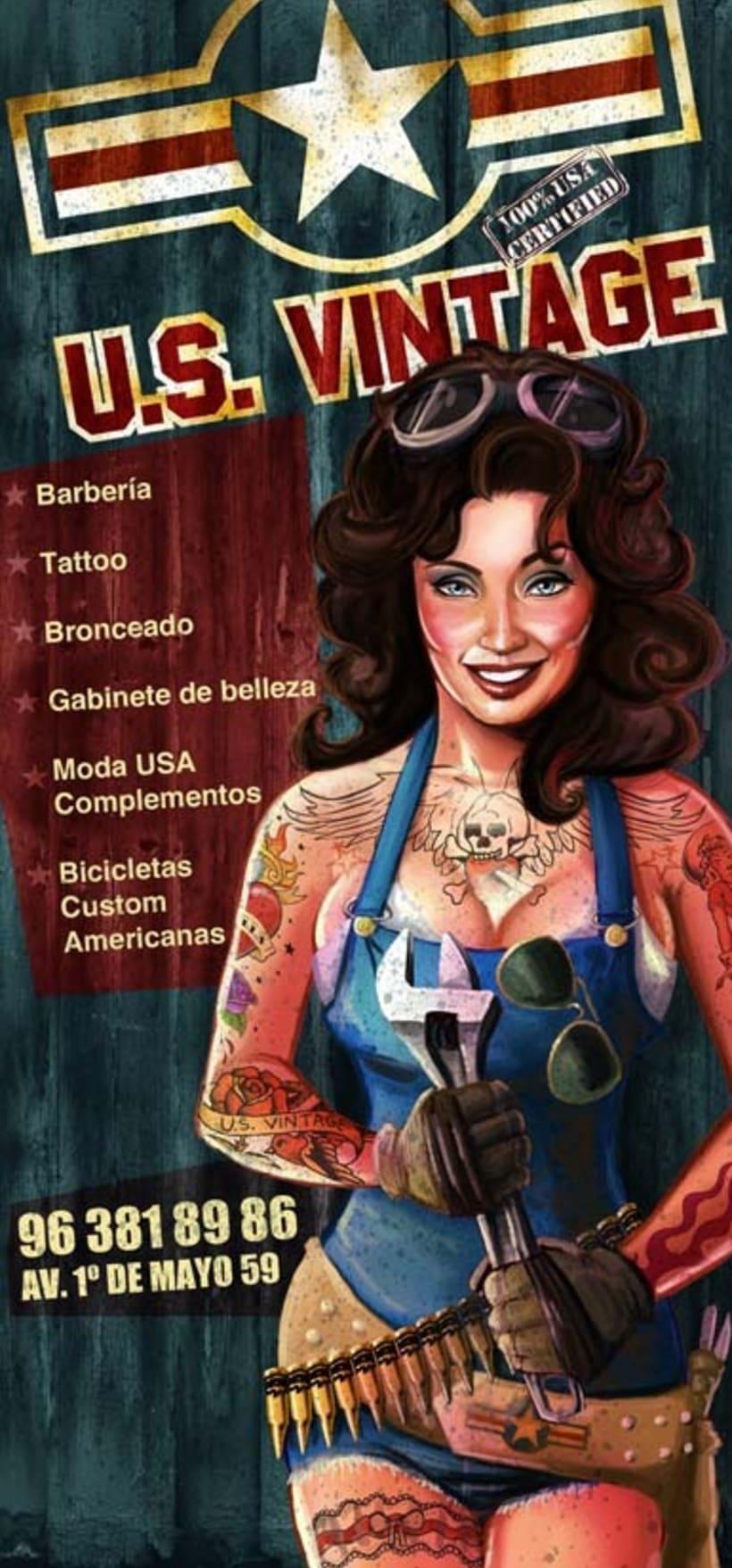 Flyer U.S. Vintage (Multiespacio de Cultura Americana) 3