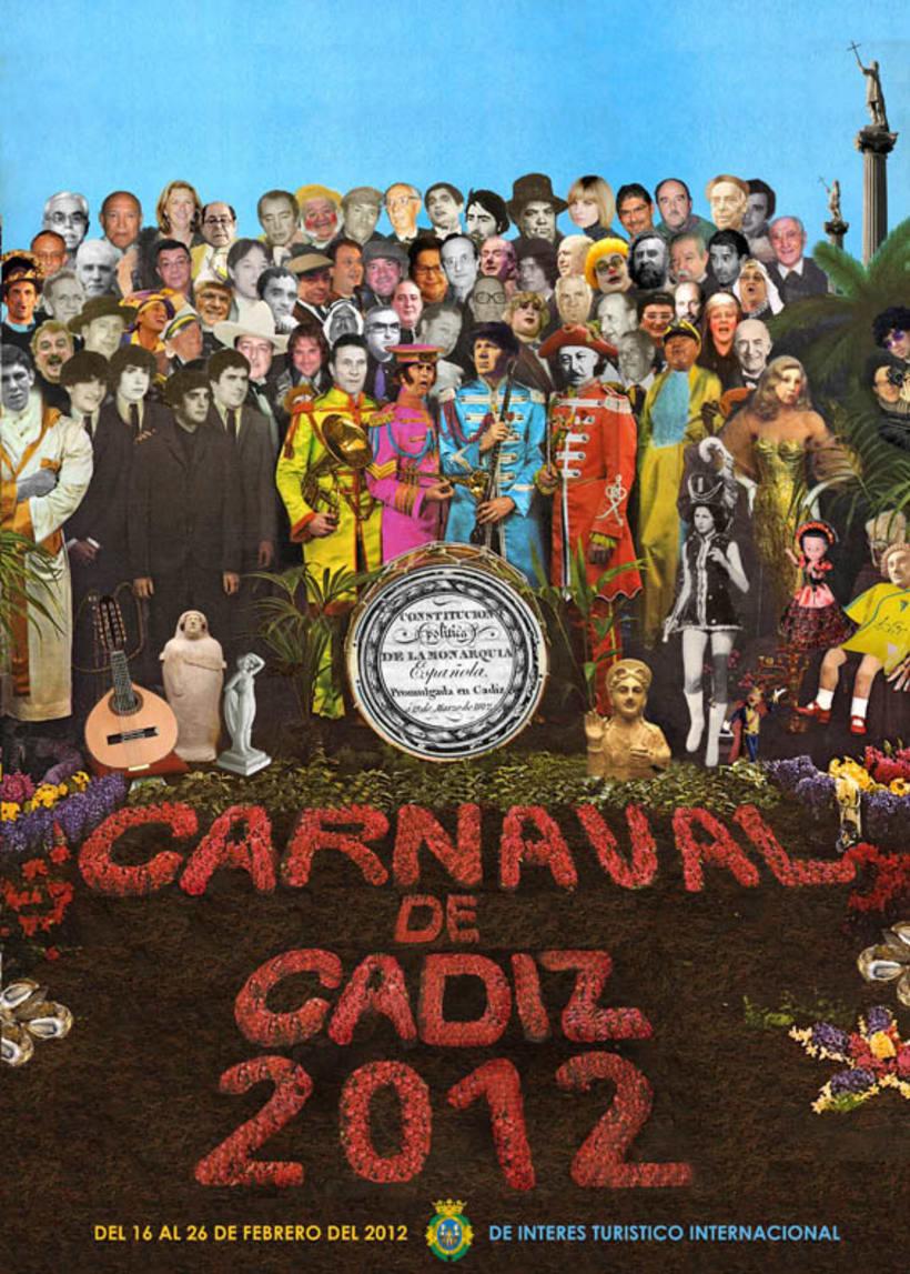propuesta cartel carnaval 2012 cádiz 1