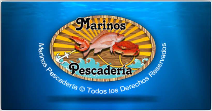 Marinos Pescadería Logo 2