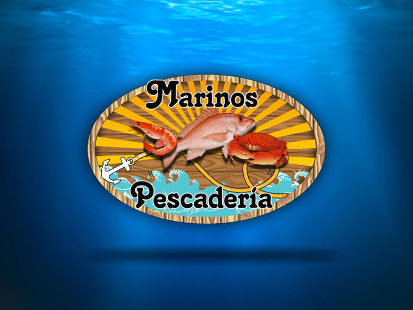 Marinos Pescadería Logo 1