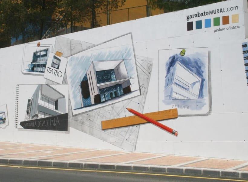 Mural en Molina del Segura 8
