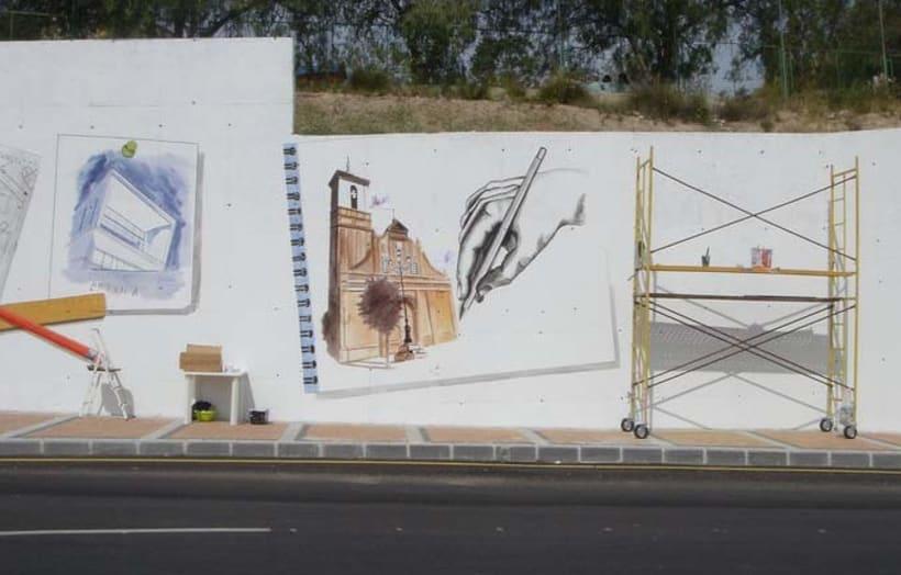 Mural en Molina del Segura 4