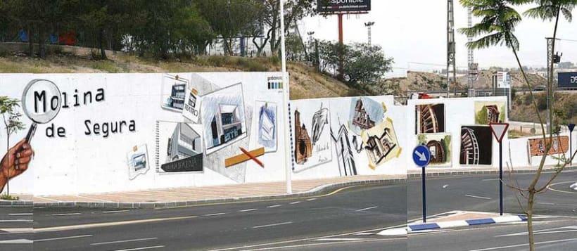 Mural en Molina del Segura 3