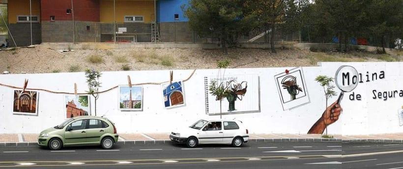 Mural en Molina del Segura 2