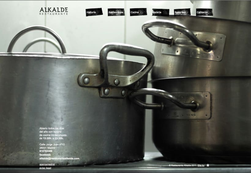 Web Restaurante Alkalde 4