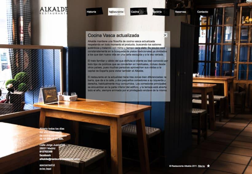 Web Restaurante Alkalde 5