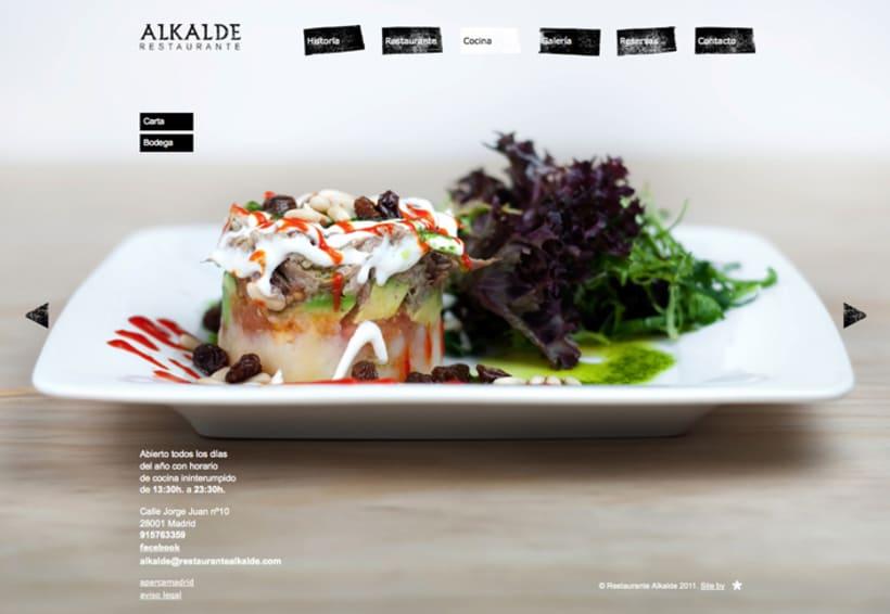 Web Restaurante Alkalde 6
