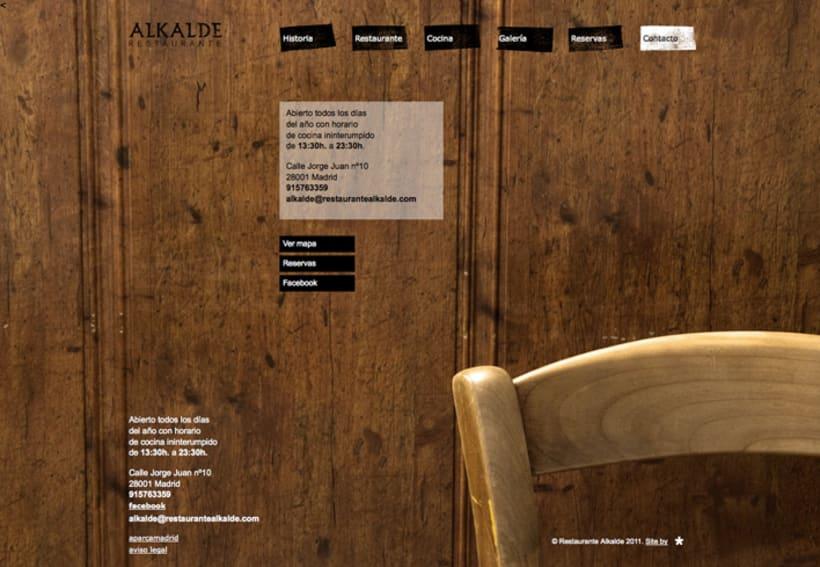 Web Restaurante Alkalde 9