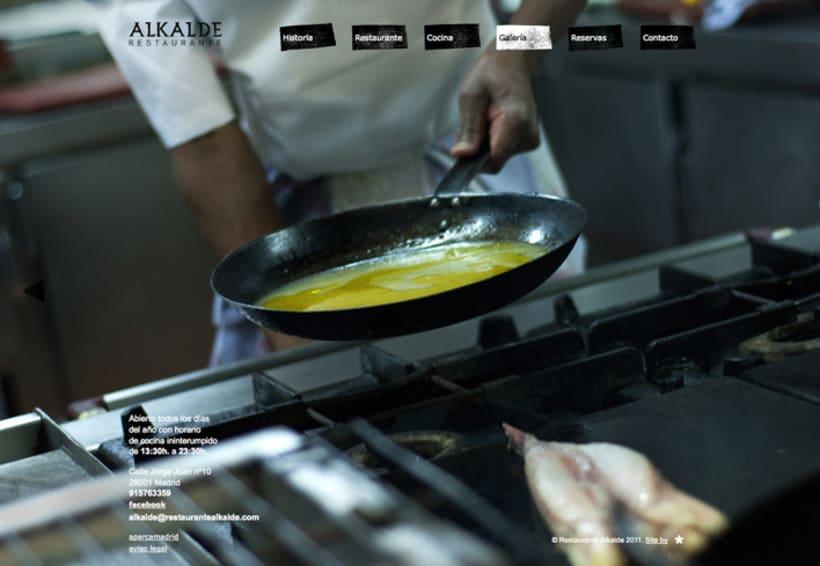 Web Restaurante Alkalde 7