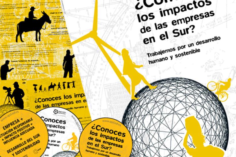 Campaña 'Empresa y desarrollo' para ISF 1