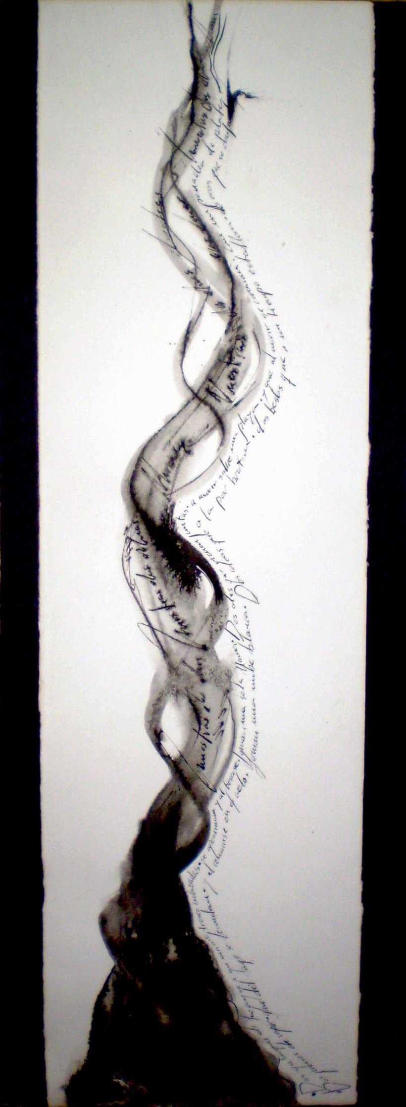 Dos almas (caligrafía artística) 2